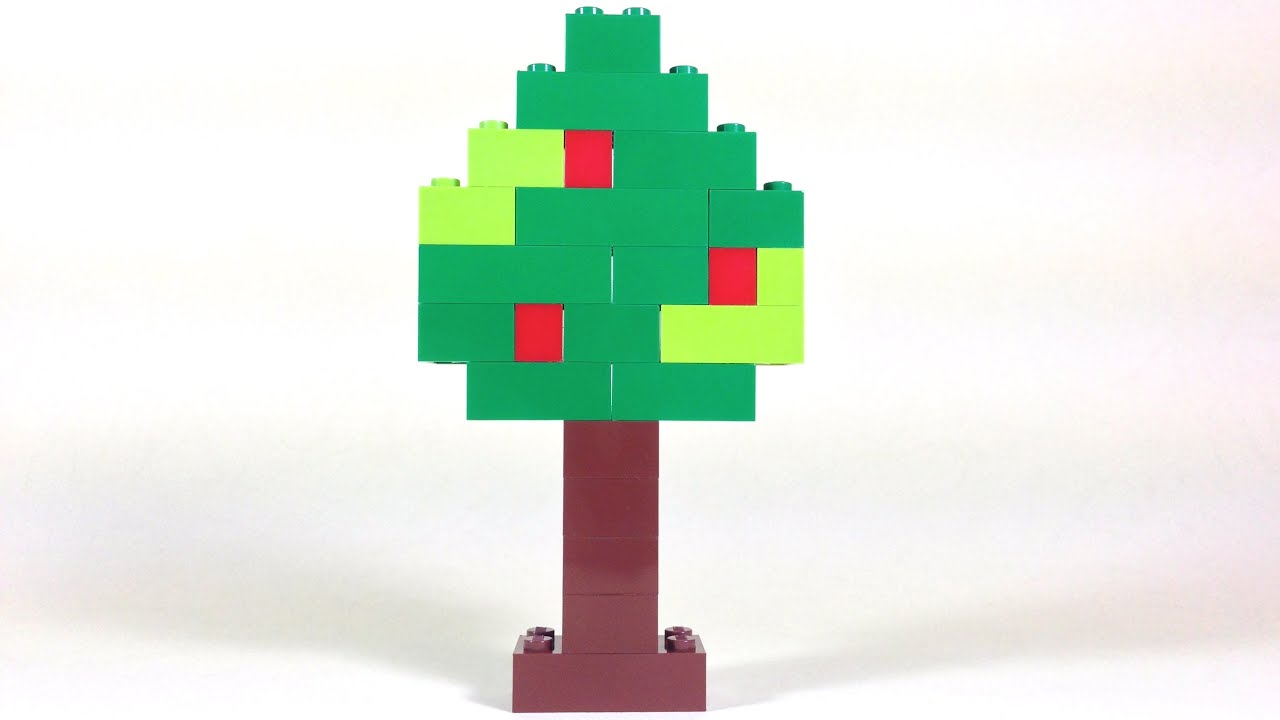 How To Build Lego TREE - 6177 LEGO® Basic Bricks Deluxe Projects for ...
