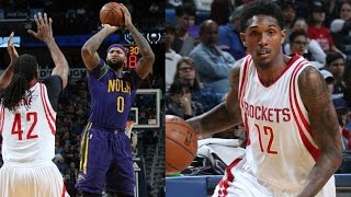 DeMarcus Cousins 1st Game With Pelicans! Lou Williams Rockets Debut! Rockets vs Pelicans