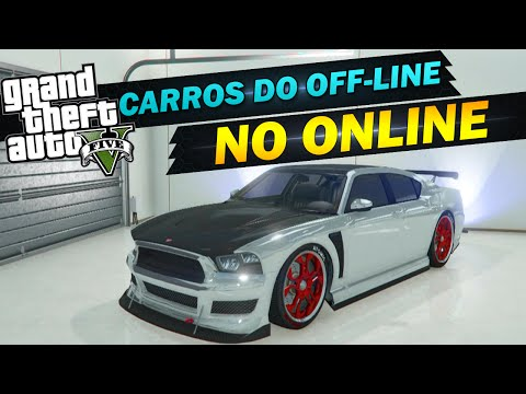 GTA V ONLINE - PASSANDO CARROS DO OFFLINE PARA O ONLINE - EASY MONEY GLITCH