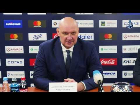 Александр Андриевский: «Здорово, что вытащили такую игру»