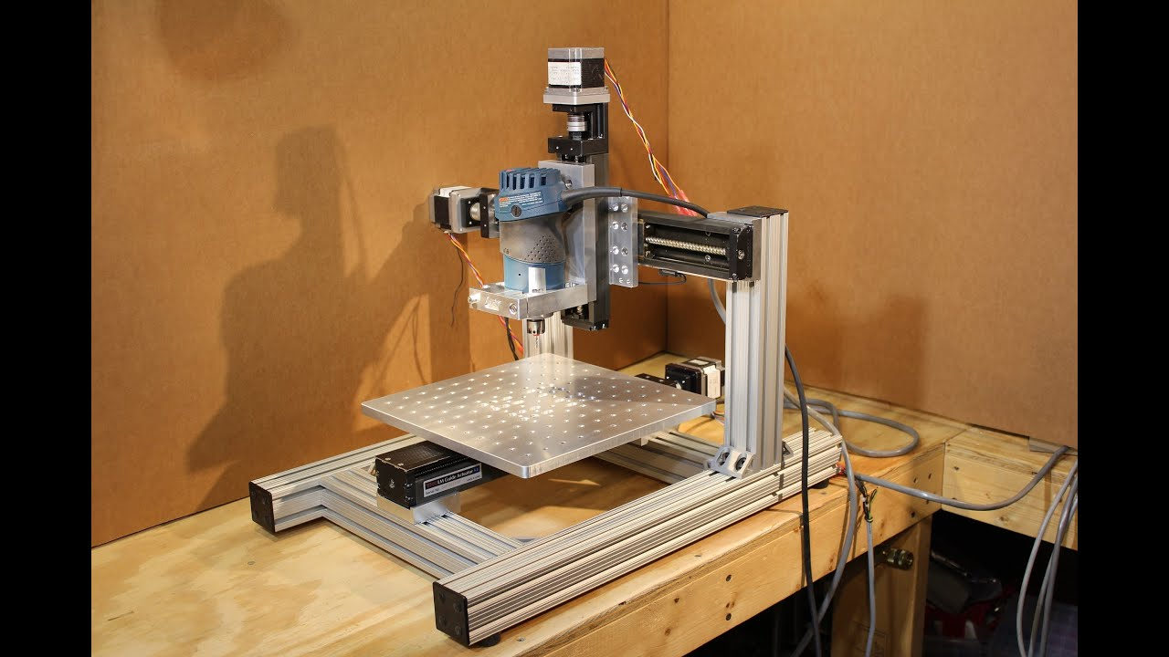 Homemade DIY CNC - KR33 Mini CNC System - 1st Test Cut ...
