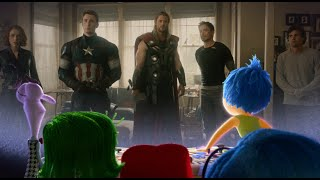 Inside Out Emotional Reaction to Avengers: Age of Ultron Trailer