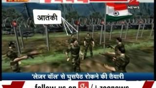 Laser walls activated along Indo-Pak border