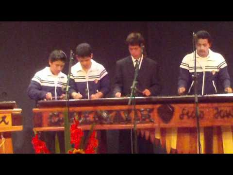 Music video Marimba de Conciertos Liceo Javier Vespertino - El Rey Quiche - Music Video Muzikoo
