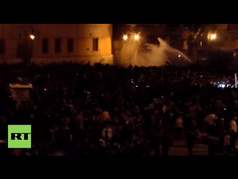 Egypt: Tahrir Square breaks out in CLASHES after Hosni Mubarak acquitted