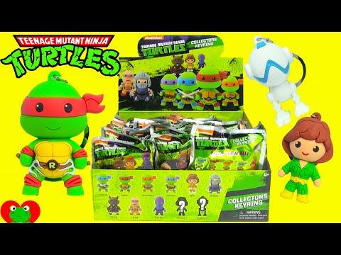 Teenage Mutant Ninja Turtles Collectors Keyring TMNT Blind Bags