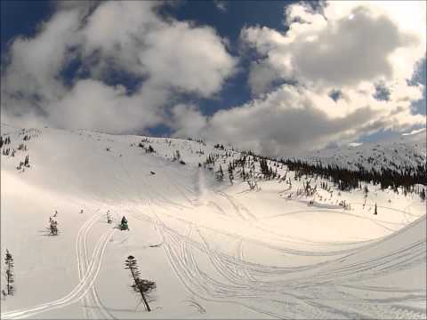 sledding in smithers bc with my gopro