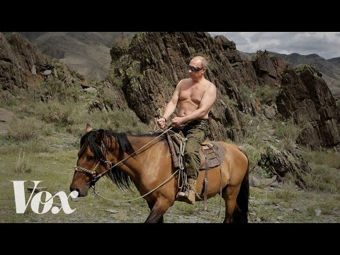 Vladimir Putin's bizarre, ultra-manly photo ops, explained