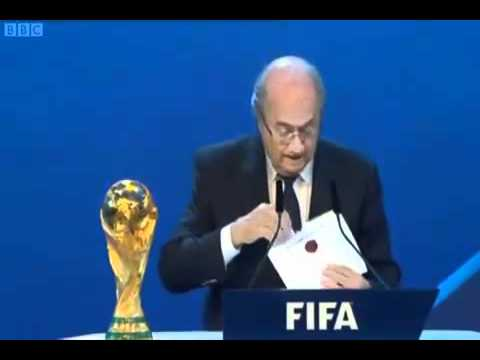 FA World Cup Bribe Claims -  OFFICIAL EVIDENCE !