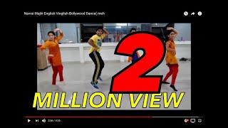 English Vinglish - Navrai Majhi English Vinglish Bollywood Dance( mehandi Dance) by DFS(Dance FlooR studiO)