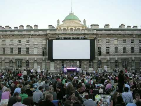 Film4 Summer Screen at Somerset House - Timelapse 2008