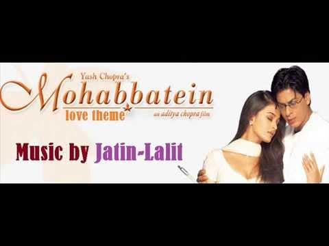 TENNÉ - Caricaturi ~ JATIN - LALIT - Mohabbatein , Love Theme