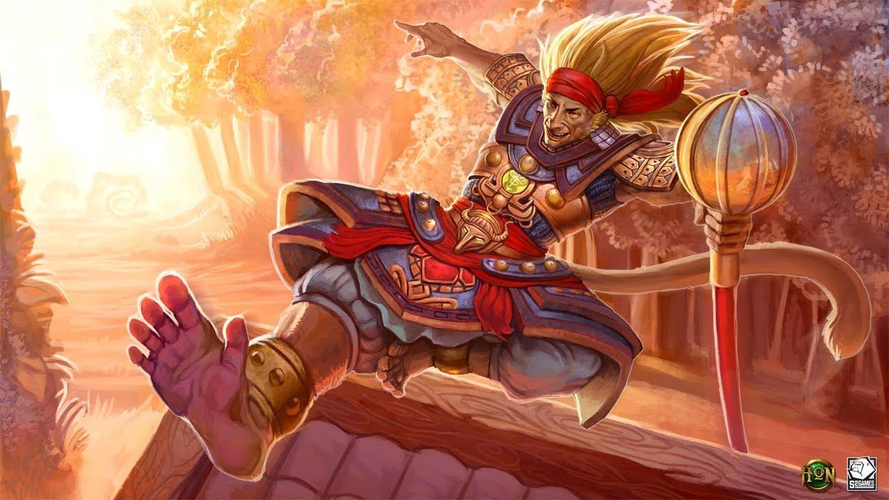 monkey king gameplay hon