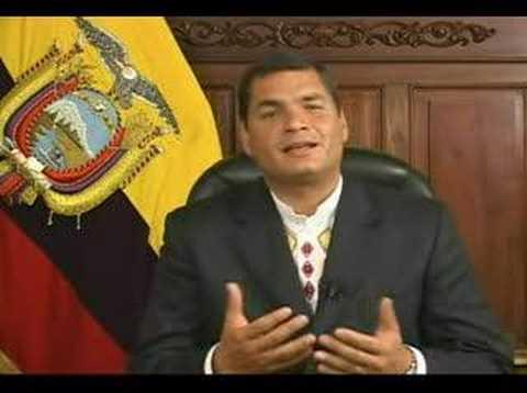 Rafael Correa invita a usar el software libre