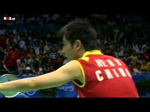 [HD] Widianto/Natsir vs Hanbin/Yu Yang 2008 Olympics SF