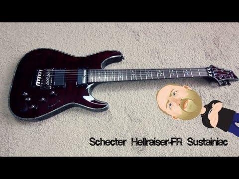 Schecter Hellraiser Fr Sustainiac - Demo video