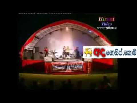 srilanka singer ginger hidden side video (www.adagossip.com)