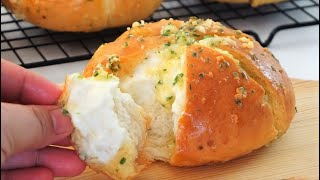 Cream Cheese Garlic Bread Recipe