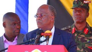 Quot Ulitakiwa Umfokee Nitakuja Kufukuza Mwenyewe Quot Rais Magufuli