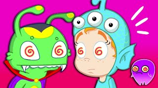Groovy The Martian & Phoebe -  Something happened at carnival! Are they all hypnotized?