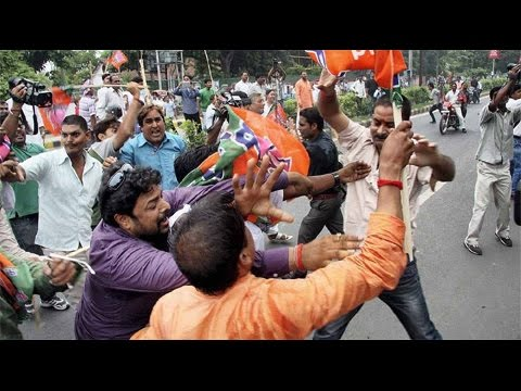 Trinamool, BJP clashes in West Bengal ahead of civic polls