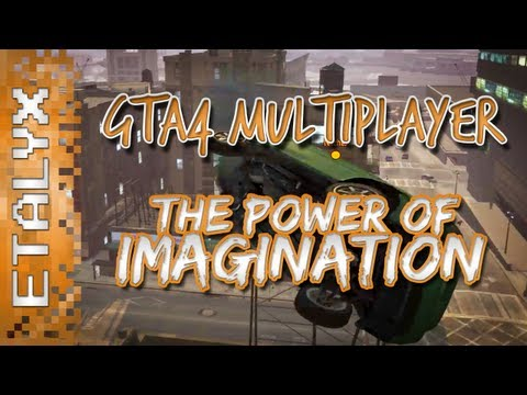 GTA4 Multiplayer - The Power of IMAGINATION w/ STAR_ & Jerma! :D
