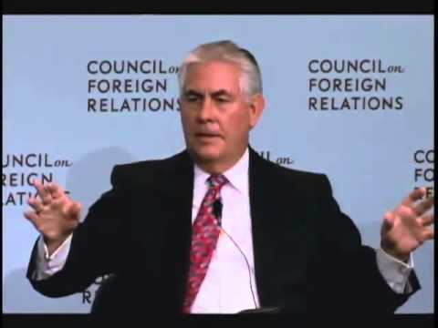rex tillerson admits global warming is real