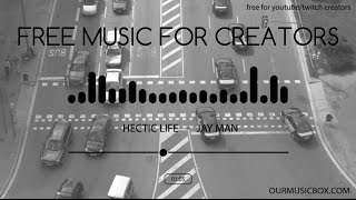Comedy | Fun - Free Music For YouTube Creators - 'Hectic Life' - OurMusicBox