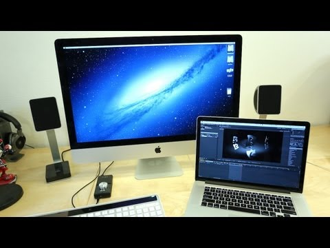 "27"" iMac GTX 680MX After Effects Performance (vs 2012 Retina MacBook Pro)"