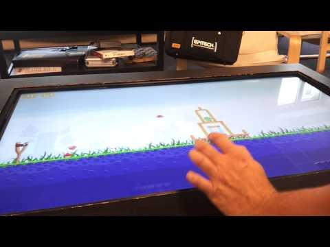 Fabriquez votre table de salon tactile - Touch Screen - Video 1