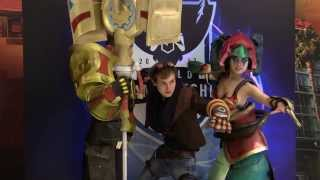 League of Legends Couple Cosplay As Jayce and Cassiopeia
