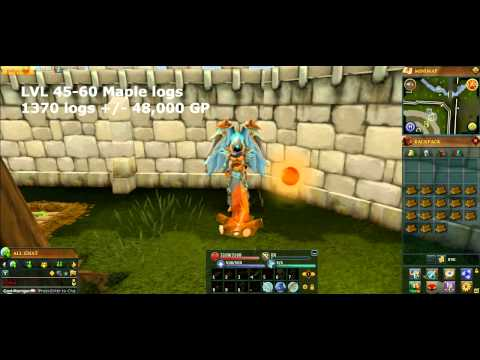 1-99 FireMaking Guide Runescape 2014 – Fast and Easy Methods [P2P only] EOC