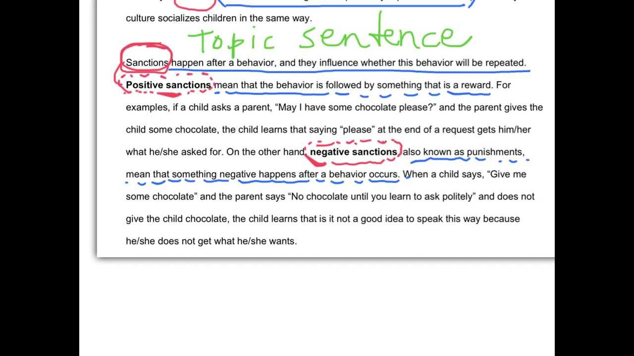 Good definition essay example