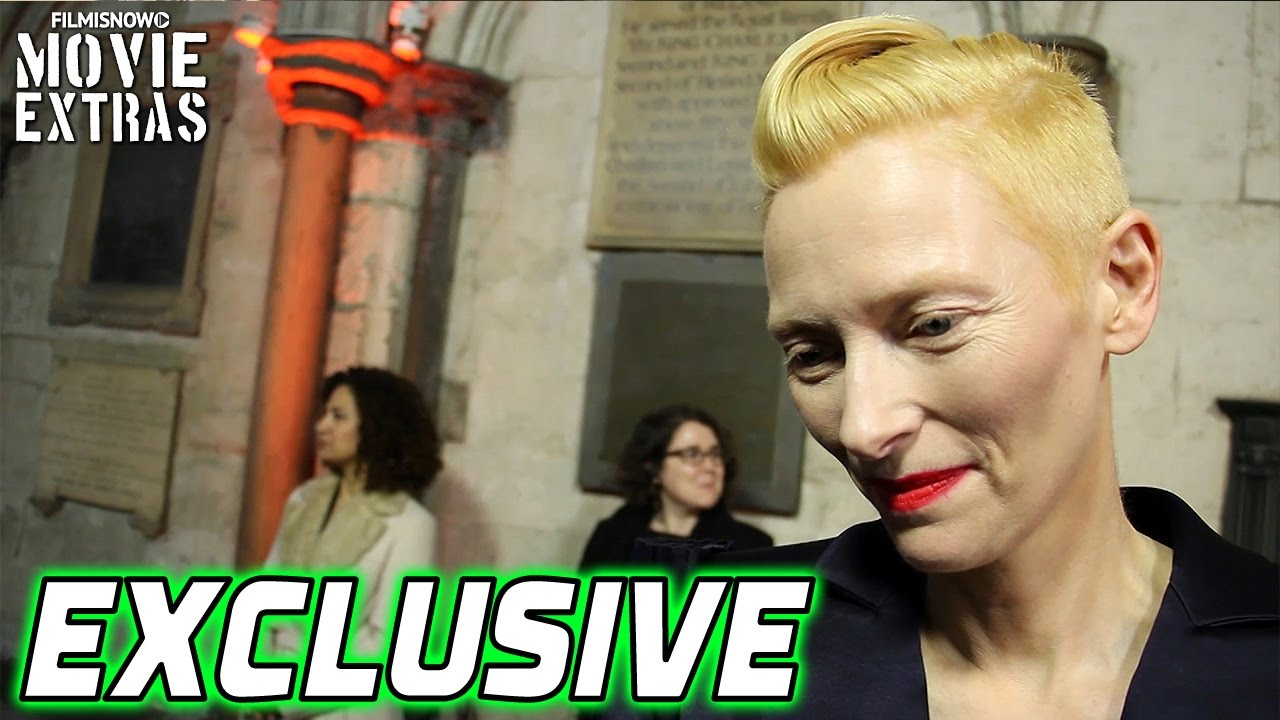 Doctor Strange (2016) London Premier Exclusive Interview with Tilda Swinton