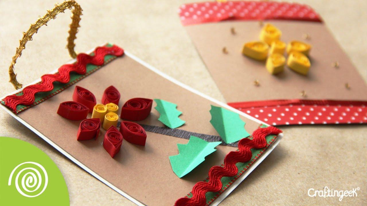 Tarjeta filigrana adorno para navidad quilling youtube - Plantillas de adornos navidenos ...
