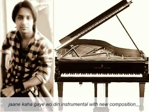Jaane Kaha Gaye Wo Din Instrumental Video By Aadil Sheikh video