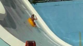 Baywatch on the water-half pipe