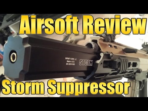 Infinity Core Storm Airsoft Suppressor