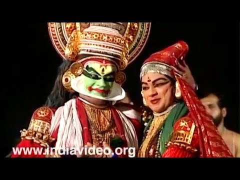 Kathakali Performance - Onam Video Greetings - Kerala video