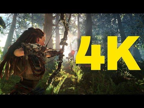 Horizon Zero Dawn PS4 Pro 4K vs. 1080p Graphics