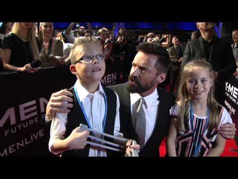X-Men: Days of Future Past: Hugh Jackman, Fan Bingbing, &  Peter Dinklage Melbourne Premiere Fashion