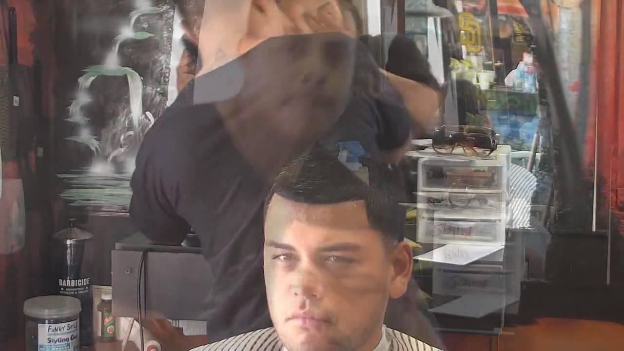 Barber Shop Full Haircut - Taper - Fade tapers - GoodFellas In Vista ...