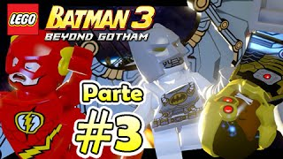 O Batman 3 Beyond Gotham: Parte 3 - Para o Espaço com Flahs e Cyborg [PC Let's Play]
