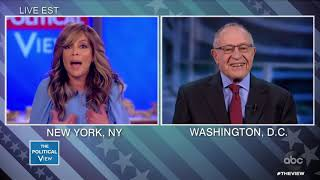 Dershowitz on calling witnesses to impeachment trial | The View