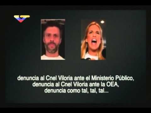 Conversación entre Leopoldo López y Lilian Tintori para chantajear a coronel en cárcel de Ramo Verde