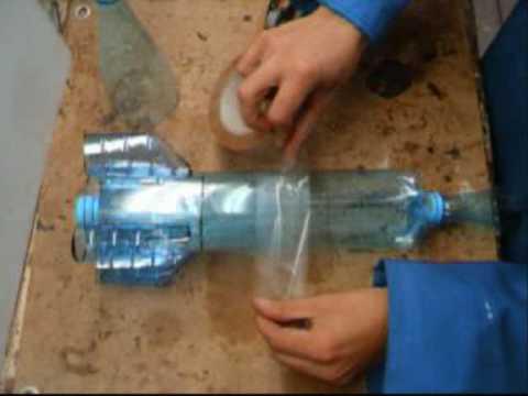 comment construire une fusée a eau