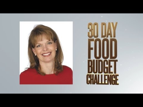 Monthly Food Budget 30 Day Challenge | Debt Free Squad