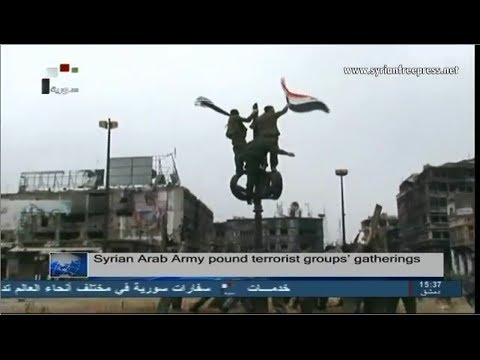 Syria News 10/5/2014, Behind the deal of Homs, French & U.S officers were operating inside