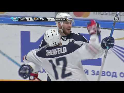 Metallurg Mg 4, Barys 3, 3 December 2017 Highlights