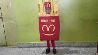 French Fries Fancydress